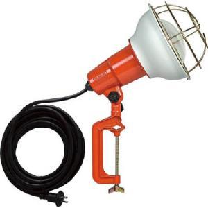 (株)ハタヤリミテッド ハタヤ 防雨型作業灯 リフレクターランプ300W 100V電線5m バイス付 RE-305 1台【106-1976】|ganbariya-shop