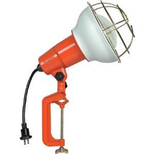 (株)ハタヤリミテッド ハタヤ 防雨型作業灯 リフレクターランプ300W 100V電線10m バイス付 RE-310 1台【106-1984】|ganbariya-shop