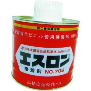 エスロン 接着剤 NO.70S 500G S705G 1缶|ganbariya-shop