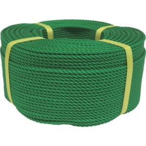 ユタカメイク ロープ PEロープ巻物 4φ×200m グリーン PE-83 1巻|ganbariya-shop