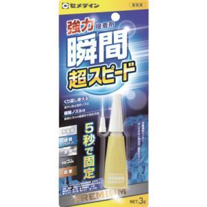 セメダイン セメダイン 3000金属用(耐衝撃)P3g CA−060 CA-060 1本|ganbariya-shop