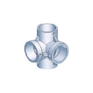 アルインコ 中間コーナーK継ぎ(外径25.4mm) HKM3KM 1個|ganbariya-shop