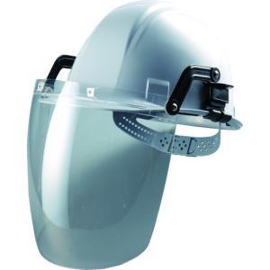 トーヨーセフティ 防災面 セフティーIR(ヘルメット取付型) NO.1175-C 1個|ganbariya-shop
