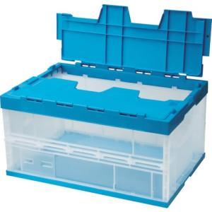 積水 OC−75L フタ一体型 透明ブルー 75LFSCB 1個|ganbariya-shop