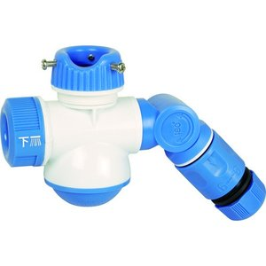 TRUSCO シャワー付き分岐蛇口ダブルポート TSDPL 1個|ganbariya-shop