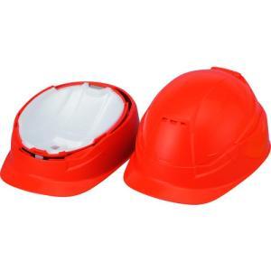 トーヨーセフティ TOYO 作業用防災用折りたたみヘルメットBLOOM3 MOVO オレンジ NO.105-OR 1個|ganbariya-shop