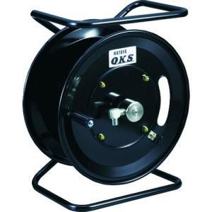 【送料無料】OKS 高圧ホースリール 耐圧20.5MPa 手動巻移動スタンド型(ホースなし) HSP-12MS 1台【北海道・沖縄送料別途】|ganbariya-shop