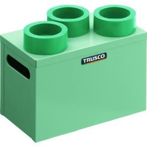 TRUSCO ツーリングケース HSK63 BT40 NT40兼用 3個収納 HSK63-3 1台|ganbariya-shop