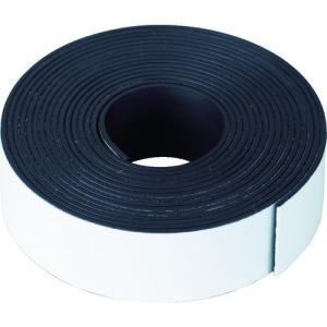 TRUSCO マグネットテープ 1.5t 25×3m TMT25-300 1巻|ganbariya-shop