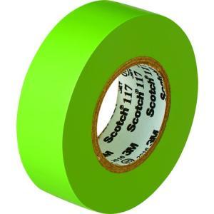 3M ビニールテープ 117 黄緑 19mmX10m 10巻入り 117 L/G 10 10P 1Pk|ganbariya-shop