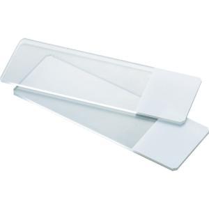 TRUSCO スライドガラス フロスト有 ホワイト SG-FWH 1箱|ganbariya-shop