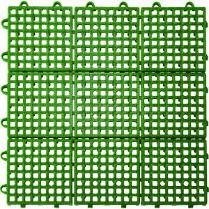 TRUSCO 抗菌・防炎ジョイントスノコ グリーン TJSD30-GN 1枚