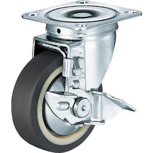 ハンマー S型自在 SP付 ウレタンB入り車100mm 413S-UB100-BAR01 1個【125-1732】|ganbariya-shop
