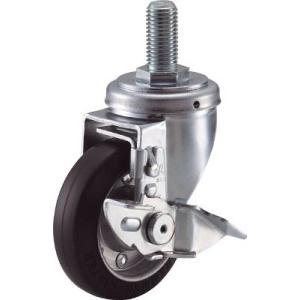 ハンマー S型ねじ式自在 SP付 ゴム車125mm M20XP2.5 413SA-R125-BAR01 1個【232-7732】|ganbariya-shop
