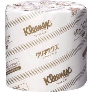 日本製紙クレシア(株) クレシア クリネックストイレットロール 40mダブル 20110 1CS【281-5338】|ganbariya-shop