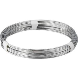 トラスコ中山(株) TRUSCO スチール針金 線径1.6mm 1kg TYW-16 1巻【282-5040】|ganbariya-shop