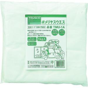トラスコ中山(株) TRUSCO αメリヤスウエス 汎用タイプ 1kg TMU-1A 1袋【299-7959】|ganbariya-shop