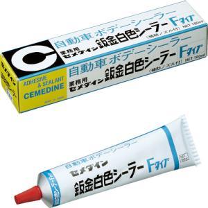 セメダイン(株) セメダイン 鈑金白色シーラーF 180ml SE-049 1本|ganbariya-shop