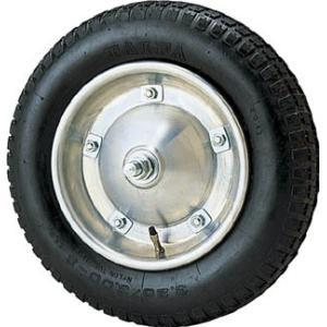 【売切れ】昭和ブリッジ販売(株) 昭和 アルミホイール付タイヤ 13X3 1個【342-9351】|ganbariya-shop