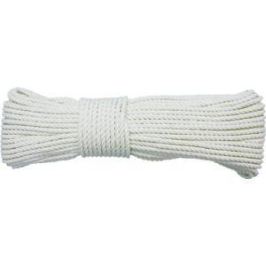 (株)ユタカメイク ユタカ ロープ 綿ロープボビン巻 4φ×30m RC-2 1巻|ganbariya-shop