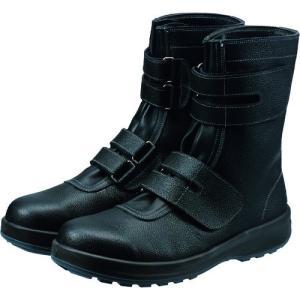 (株)シモン  シモン 安全靴 長編上靴マジック式 SS38黒 26.0cm SS38-26.0  1足