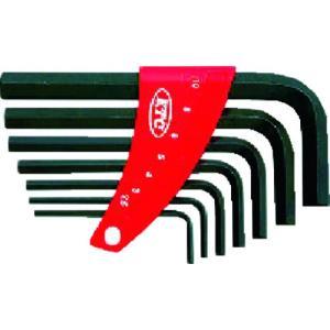 京都機械工具(株) KTC L形六角棒レンチセット[7本組] HL107 1S【373-4536】