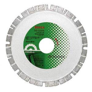 ボッシュ(株) ボッシュ ダイヤホイール105PRギアタイプ DG-105PR 1枚【378-4711】|ganbariya-shop