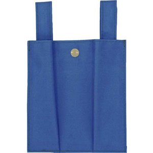 藤井電工(株) ツヨロン 安全帯用ロープ収納袋 青色 MR-45-BL-HD 1枚|ganbariya-shop