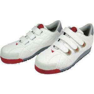 ドンケル(株) ディアドラ DIADORA 安全作業靴 アイビス 白 24.0cm IB11-240 1足 ganbariya-shop