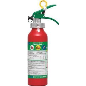 日本ドライケミカル(株) ドライケミカル ABC粉末消火器本体アルミ製3型 PAN-3A1 1本【390-4075】|ganbariya-shop