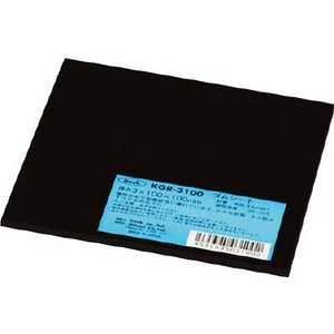 (株)光 光 ゴム板 3×100×100mm KGR-3100 1枚【412-2500】