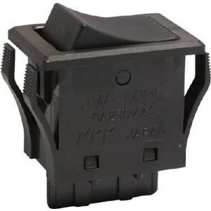 NKKスイッチズ(株) NKKスイッチズ ロッカスイッチ JW−Mシリーズ 単極 ON−OFF JW-M11RKK 1個【413-1983】|ganbariya-shop