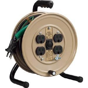 (株)ハタヤリミテッド ハタヤ 温度センサー付コードリール単相100V10M JS-101KS 1台【418-9680】|ganbariya-shop