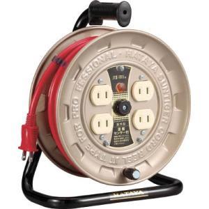 (株)ハタヤリミテッド ハタヤ 温度センサー付コードリール単相100V10M JT3-101S 1台【418-9728】|ganbariya-shop