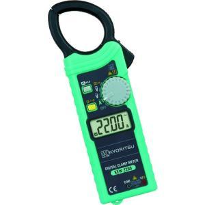 共立電気計器(株) KYORITSU ACデジタルクランプメータ KEW2200 1個【421-2967】|ganbariya-shop