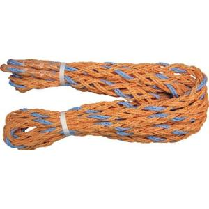 (株)ユタカメイク ユタカ ロープ トリックロープ−P 15mm×6m 2t HIP-2T 1巻|ganbariya-shop