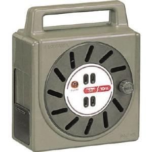 (株)ハタヤリミテッド ハタヤ 温度センサー付コードリール単相100V10M NJ-101S 1台【424-9933】|ganbariya-shop
