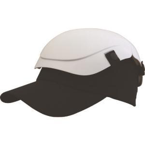 トラスコ中山(株) TRUSCO 防災用セーフティ帽子 キャメット ホワイト TSCM-W 1個【431-1116】 ganbariya-shop