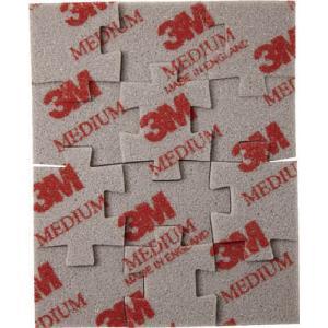 スリーエム ジャパン(株) 3M ジグソーパズル型スポンジ研磨材 中目 1枚パック SPONGE JIG M 1枚【431-1817】|ganbariya-shop