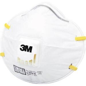 スリーエム ジャパン(株) 3M 使い捨て式防じんマスク 8812J DS1 2枚入り 排気弁付き 8812J 2 1箱|ganbariya-shop