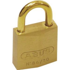 アバス社 ABUS 真鍮南京錠 84MB−35 同番 84MB-35-KA 1個【445-1643】|ganbariya-shop
