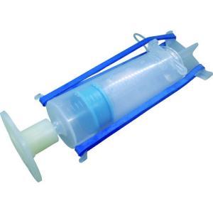 【特長】●自動式低圧樹脂注入工法(ボンドシリンダー工法[[(R)]])用の注入器具です。●ひび割れ内...