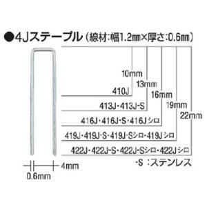 マックス(株) MAX タッカ用ステープル(白) 肩幅4mm 長さ16mm 5000本入り 416J-WHITE 1箱(5000本入)|ganbariya-shop