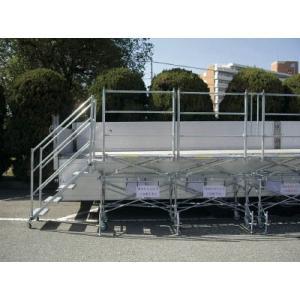 【廃番】日鐵住金 トラック荷台作業用足場 クイックステージ QS6-2-K2 1S【代引不可】【別途運賃必要なためご連絡いたします。】|ganbariya-shop