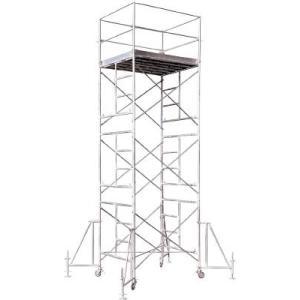アルインコ(株) アルインコ ローリングタワー4段 RT4FXZ 1台【455-5490】【代引不可商品】【別途運賃必要なためご連絡いたします。】|ganbariya-shop
