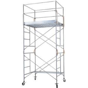 ピカ 鋼管製移動式足場ローリングタワーRA型 2段 RA-2 (ローリングタワー) 1台【代引不可商品】【別途運賃ご連絡いたします。】|ganbariya-shop