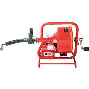【送込】ヤスダ 排水管掃除機FX3型電動 FX3-8-15 1台【466-4752】【代引不可商品・...