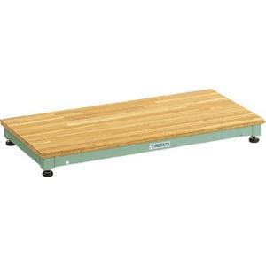 【廃番】【送込】TRUSCO 低床用木製ステップ 898X450XH90〜120 UFS-0945N 1台【代引不可・メー直】【北海道・沖縄送別】 ganbariya-shop