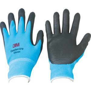 スリーエム ジャパン(株) 3M 一般作業用コンフォートグリップグローブ ブルー Lサイズ GLOVE-BLU-L 1双|ganbariya-shop