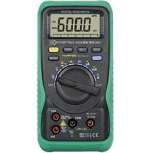 共立電気計器(株) KYORITSU デジタルマルチメータ(RMS) KEW1012 1個【479-6357】|ganbariya-shop
